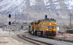 UNION PACIFIC RAIL TRAIN FEBRUARY 27,2010 PROVO,UTAH.